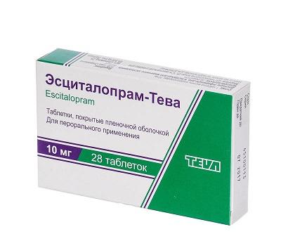 escitalopram gewichtszunahme